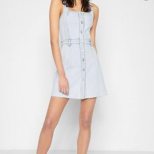 7 for all mankind Button Front Dress in Desert Sun